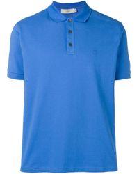 Pringle of Scotland Poloshirt mit Logo in Blue für Herren