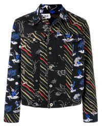 Loewe - Black X Paula's Denim Jacket for Men - Lyst