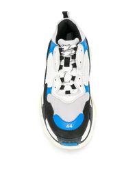 """Sneakers """"Triple S"""" di Balenciaga in Black da Uomo"""