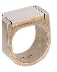 Parts Of 4 - Metallic Anello Placcato - Lyst