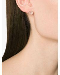 Melissa Joy Manning Metallic Herkimer Diamond Post Earrings