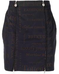 Martine Rose London スカート Blue