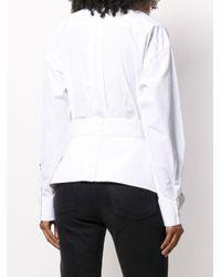 DSquared² ペプラム シャツ White