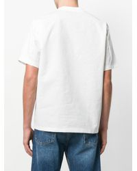 Kolor - White Printed T-shirt for Men - Lyst