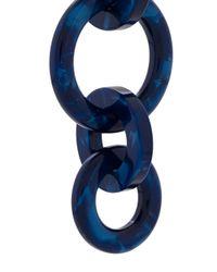 Lele Sadoughi - Blue Wind Chime Hoop Earrings - Lyst
