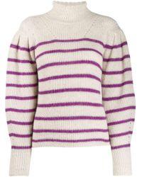 Étoile Isabel Marant ストライプ タートルネック セーター Multicolor