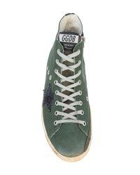 Golden Goose Deluxe Brand | Green Francy Sneakers for Men | Lyst