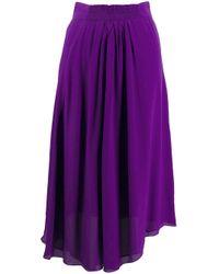 Étoile Isabel Marant ギャザースカート Purple