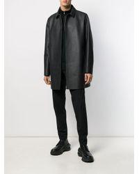 メンズ 1017 ALYX 9SM コンシールフロント コート Black