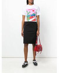 Prada Black Fitted Skirt