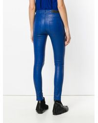 Zadig & Voltaire Blue Phlame Pants
