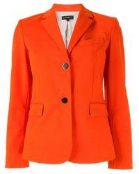 Blazer classique Theory en coloris Orange