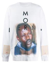 Maglione con stampa di A_COLD_WALL* in Multicolor da Uomo