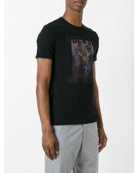 Jil Sander Black Robot Print T-shirt for men