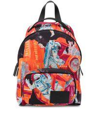 Valentino Garavani Orange Infinite City Backpack for men