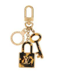 Louis Vuitton 2012 プレオウンド ポルト クレ コンフィダンス バッグチャーム Metallic