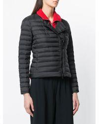 Peuterey - Black Side-fastening Puffer Jacket - Lyst