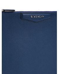 Givenchy - Blue Medium 'antigona' Clutch - Lyst