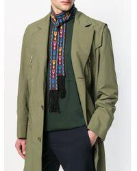 Écharpe fine à motif ethnique Valentino pour homme en coloris Multicolor