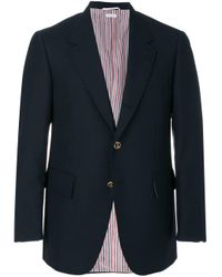 メンズ Thom Browne テーラードジャケット Blue