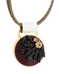 Marni - Red Strass Necklace - Lyst