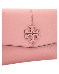 Tory Burch Pink Mcgraw Cross-body Bag