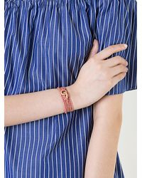 Carolina Bucci - Metallic Multi-strand Sparkly Link Bracelet - Lyst