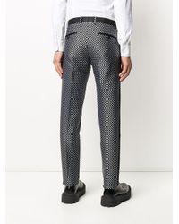 Pantalon à motif de pois Dolce & Gabbana pour homme en coloris Black