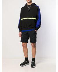 Sudadera con diseño colour block con capucha D.GNAK de hombre de color Black