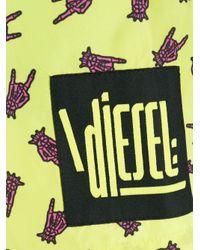 メンズ DIESEL Bmbx-sandy トランクス水着 Multicolor