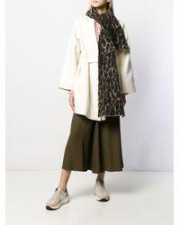 Golden Goose Deluxe Brand レオパード スカーフ Multicolor