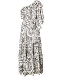 Lisa Marie Fernandez ワンショルダー ドレス White