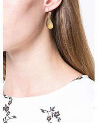 Alexis Bittar - Metallic Teardrop Earrings - Lyst