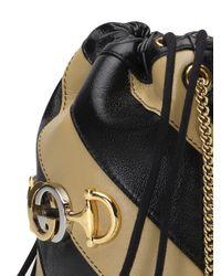 Gucci Bucket-tas Met Trekkoord in het Black