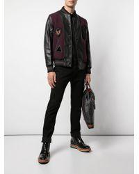 メンズ COACH ジップジャケット Black