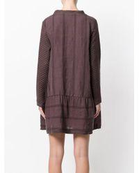 Cecilie Copenhagen - Purple Patterned Dress - Lyst