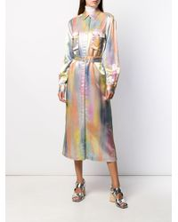 Sies Marjan ベルテッド シャツドレス Multicolor