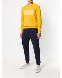 メンズ Z Zegna ロゴ セーター Yellow