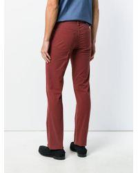 メンズ Brioni フレアパンツ Red