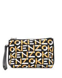KENZO クラッチバッグ Multicolor