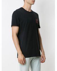 メンズ Osklen プリント Tシャツ Black