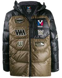 メンズ White Mountaineering ロゴ パデッドジャケット Multicolor