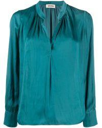 Blusa di Zadig & Voltaire in Blue