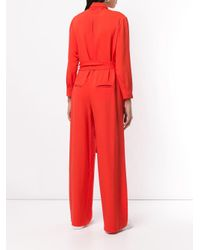 LAYEUR Red Boiler Suit