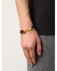 1-100 Metallic '163' Cuff Bracelet