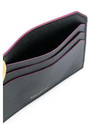 Roksanda Black Geometric Detail Card Holder
