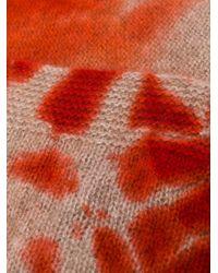 Шарф С Принтом Тай-дай Suzusan, цвет: Red