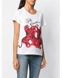 Just Cavalli タイガープリント Tシャツ Multicolor