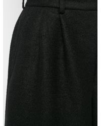 Comme des Garçons ウール ワイドショートパンツ Black