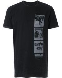 Osklen Black Printed T-shirt for men